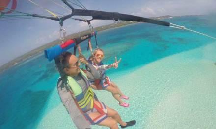 Tudo sobre o voo de parasail em San Andrés