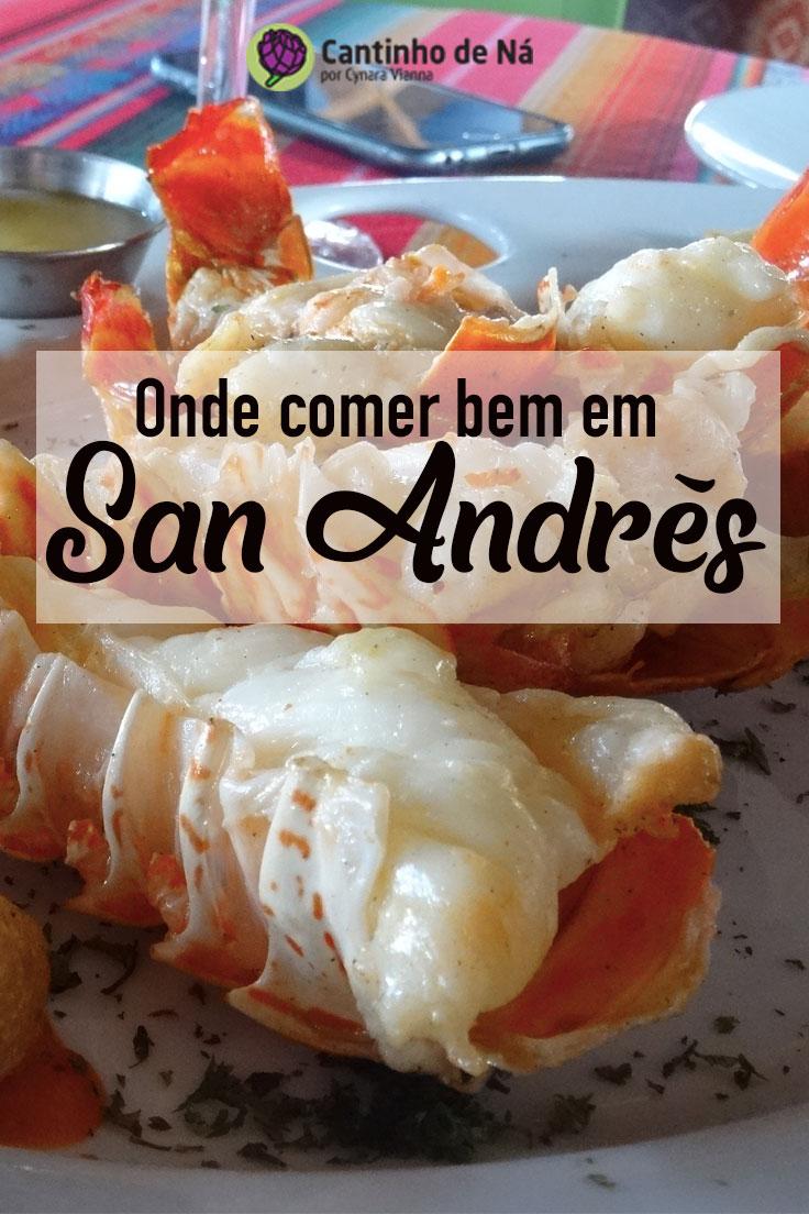 Onde comer bem em San Andrés