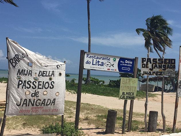 Beira-mar de São Miguel dos Milagres