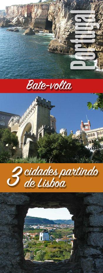 Conheça 3 cidades em viagens bate-volta partindo de Lisboa.