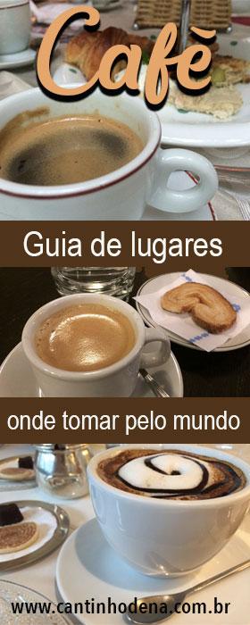 Dicas de onde tomar café pelo mundo