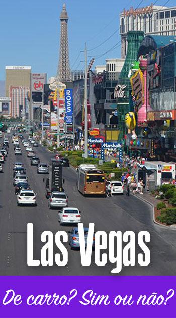 De carro em Las Vegas