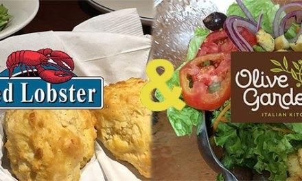 Red Lobster e Olive Garden em Guarulhos