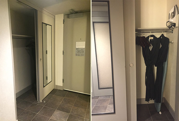 hotel em Boston armario