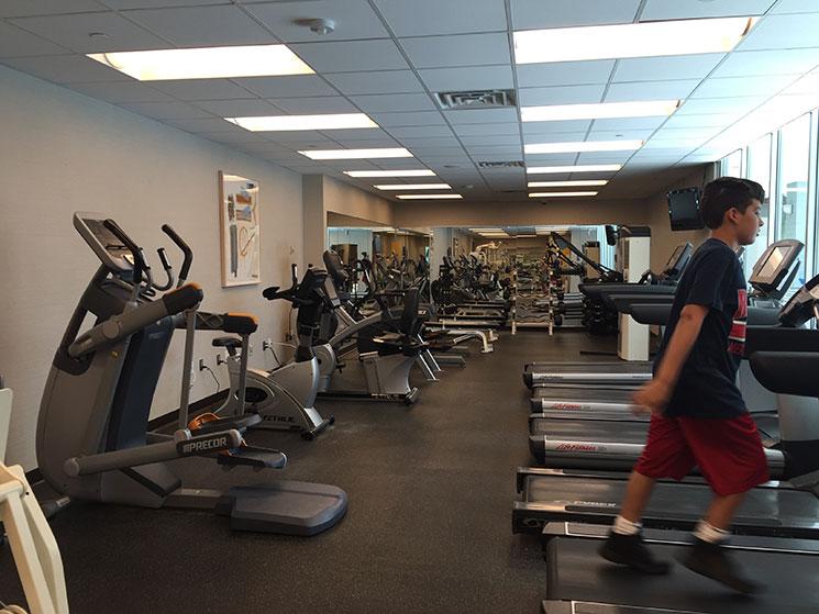 hotel em Boston fitness