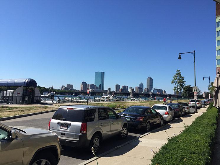 hotel em Boston vista