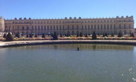 Palácio de Versalhes. Patrimônio UNESCO com louvor.