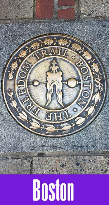 Freedom Trail em Boston