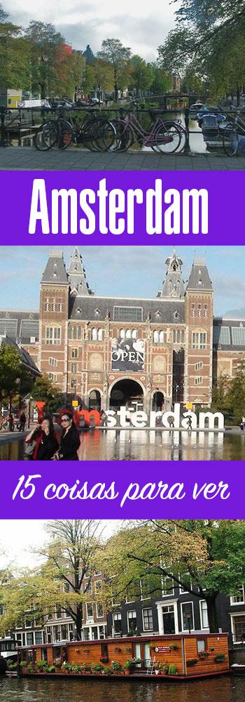 O que ver e fazer em Amsterdam