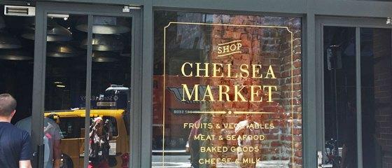 Entrada do Chelsea Market