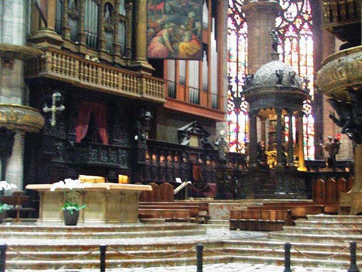 Interior do Duomo de Milão