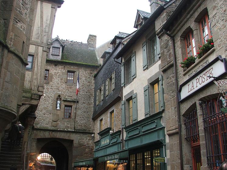 Grand Rue em Mont Saint Michel