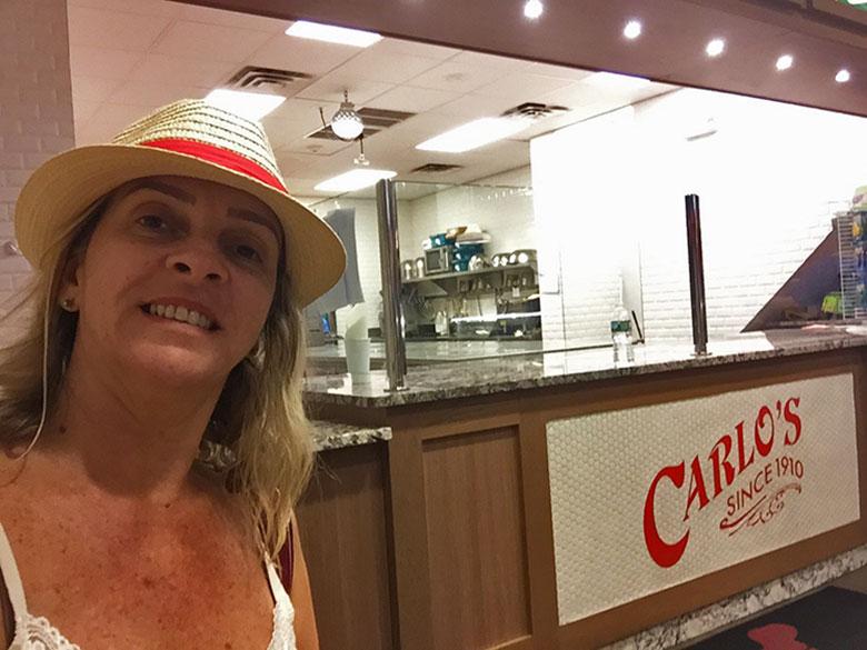 Cozinha da Carlo's Bake Shop