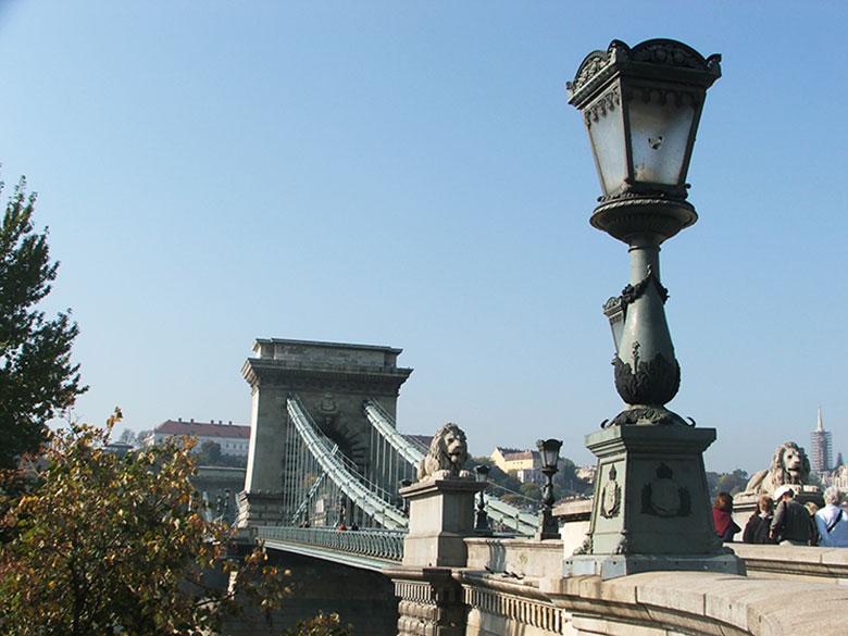 Ponte das Corrente em Budapeste