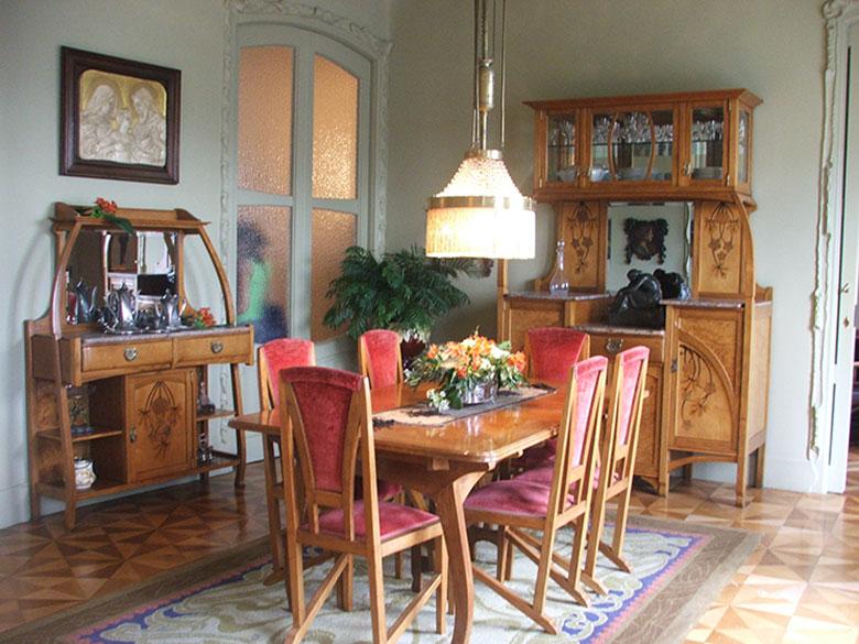 Sala de jantar da Casa Milà ou La Pedrera