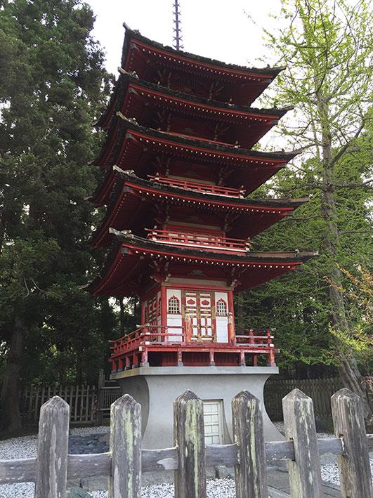 Jardim Japonês em San Francisco