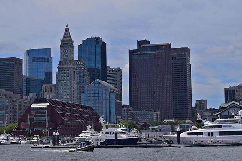 Passeio de barco em Boston