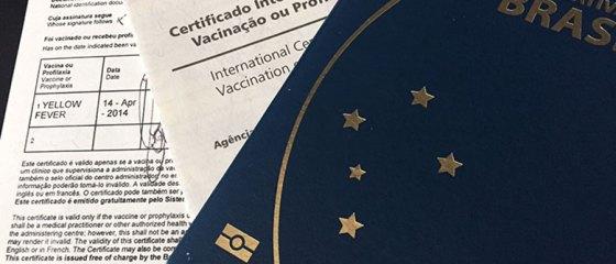 Carteira internacional de vacinação