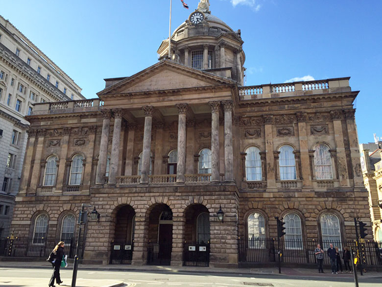 Town Hall em Liverpool