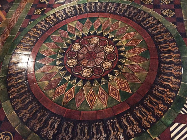 Mosaico da Catedral de Dublin