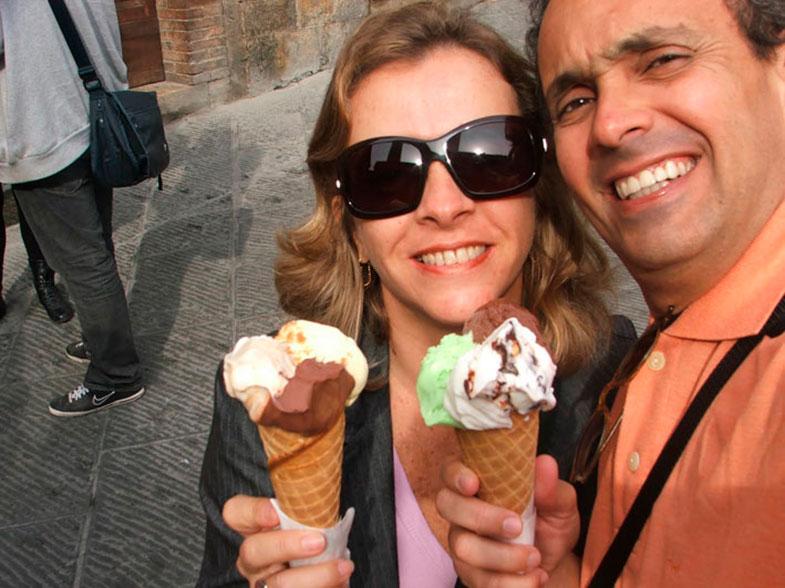 Gelati em San Gimignano
