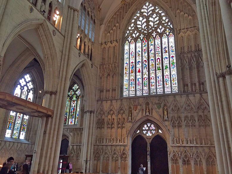 Grande Janela Oriental da Catedral de York