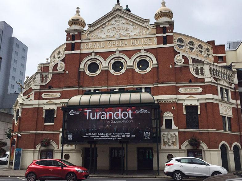 Grand Opera House em Belfast