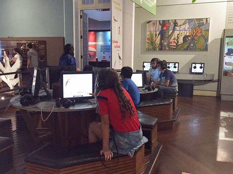 Seção Vida do Museu Catavento