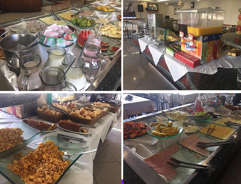 Café da manhã no Century Paulista