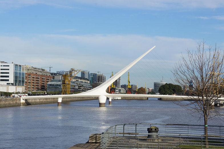 Puente de la Mujer em Buenos Aires