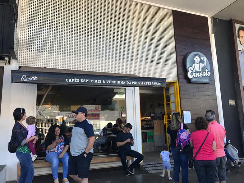 Ernesto Cafés Especiais em Brasília