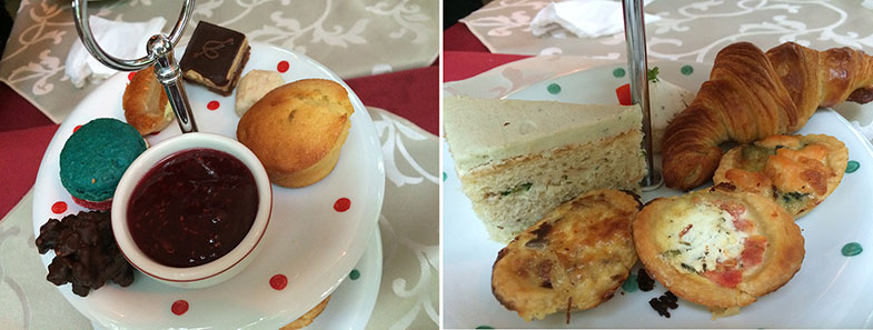Chá da tarde do Café Daniel Brian