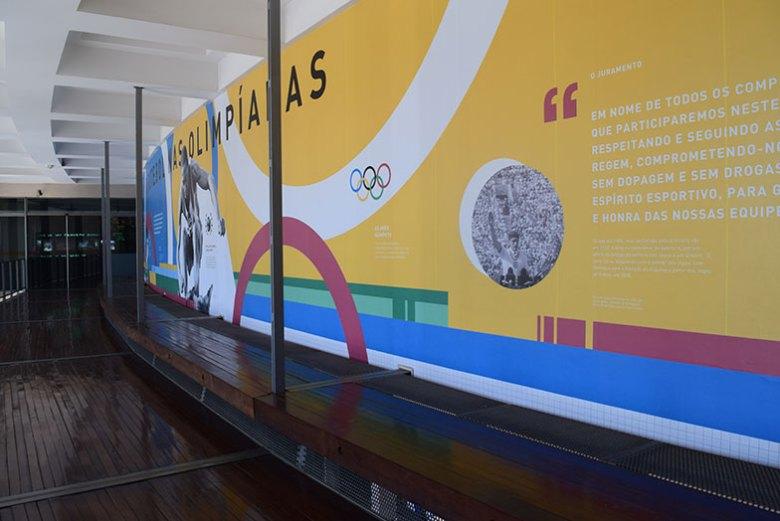 Interior do Museu do Futebol