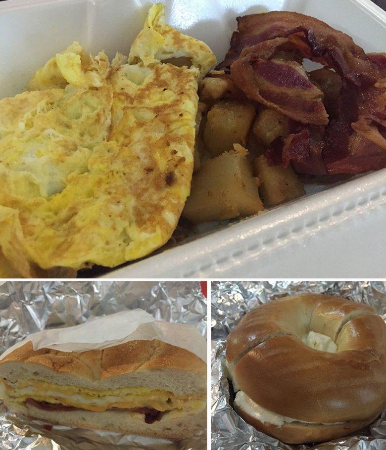 Café da manhã do Village 38 em Manhattan