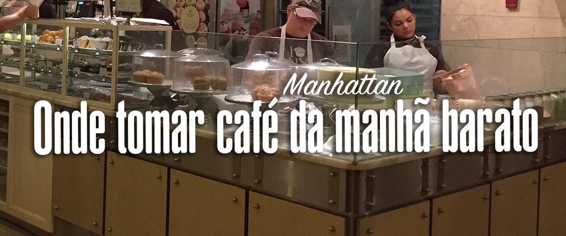 Café da manhã barato em Manhattan