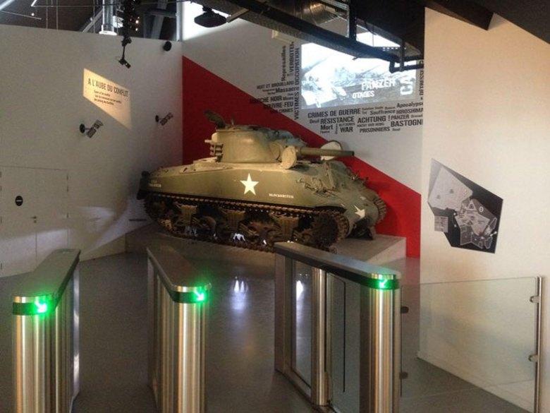 101 Airbone Museum Les Mess em Bastogne