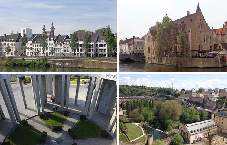 4 cidades partindo de Bruxelas que valem uma visita