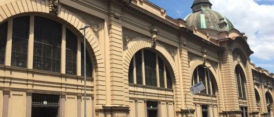 Fachada do Mercadão de São Paulo