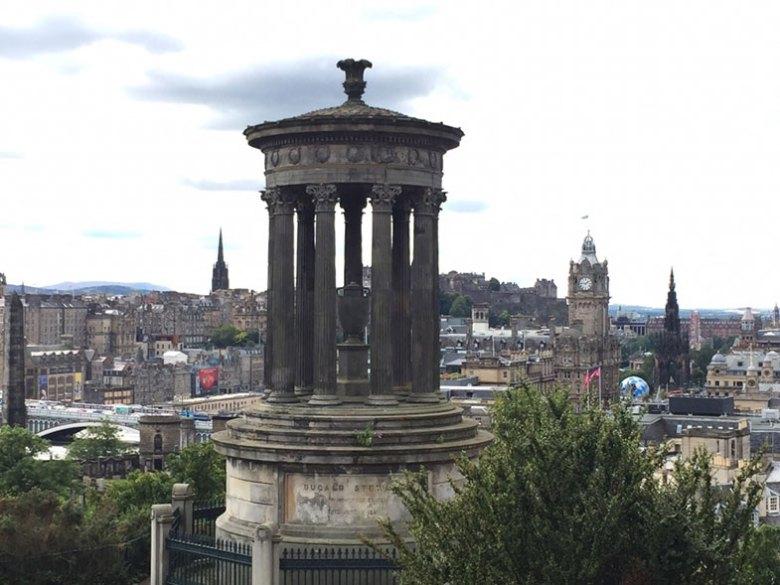 Calton Hill em Edimburgo