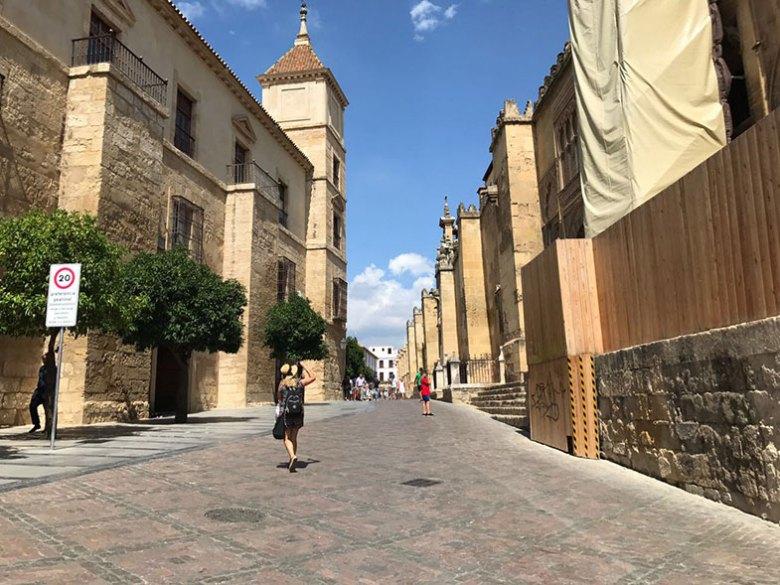 Paralelepípedos das ruas de Córdoba
