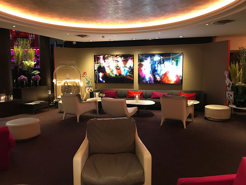 Lobby Sofitel Hotel em Paris no La Défense