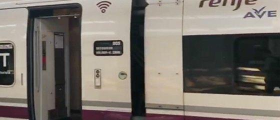 Trem pela Espanha
