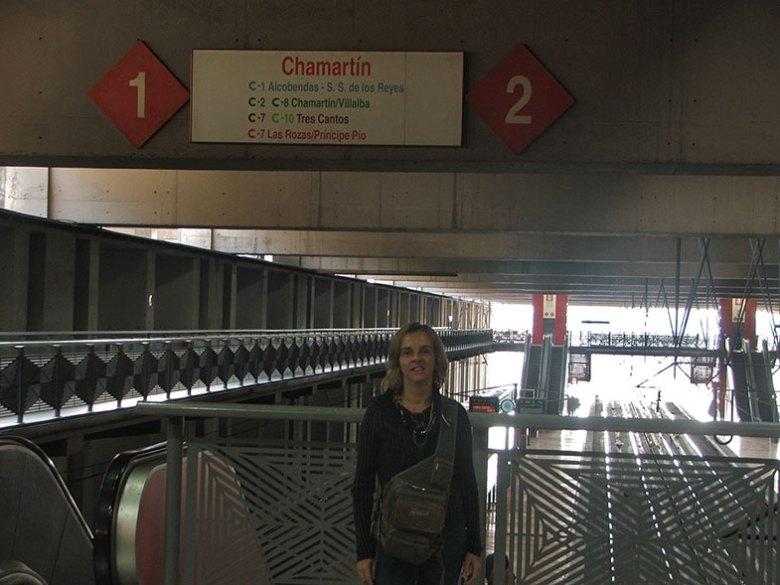 Estação Chamartín em Madrid