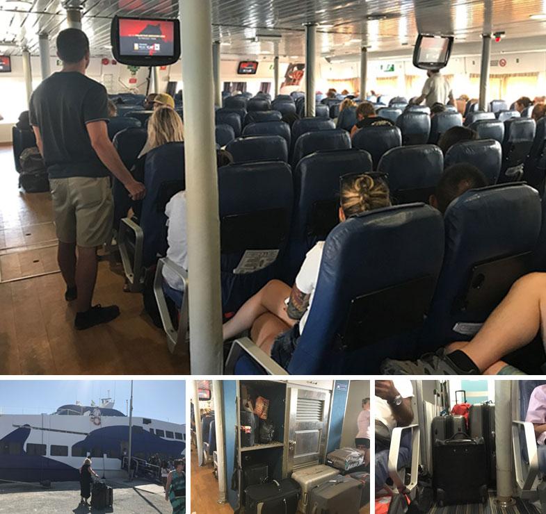 Ferry Paros Jet