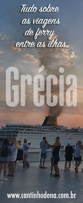 Como é viajar de ferry na Grécia