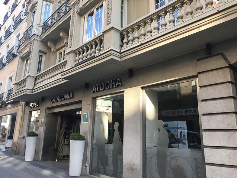 Catalonia Atocha hotel em Madrid