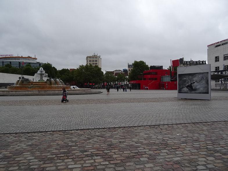 Grande Halle de la Villette em Paris