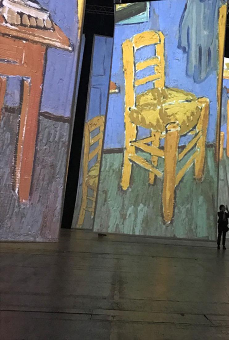 Exposição Imagine Van Gogh em Paris