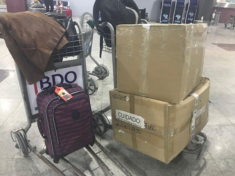 Bagagem adicional num voo doméstico com a LATAM