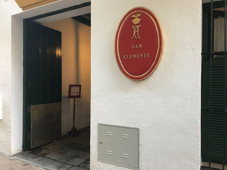 Entrada de nosso hotel
